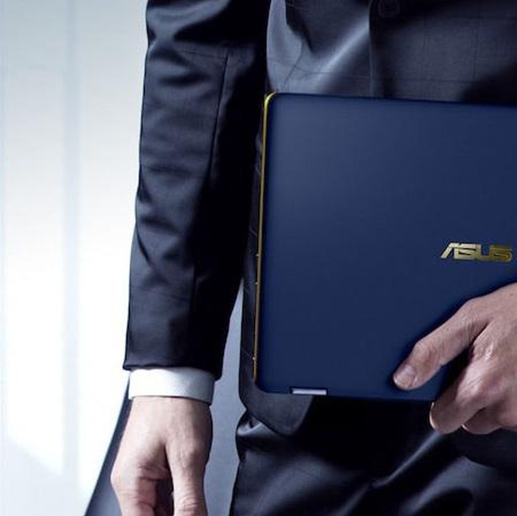 Asus Rilis Notebook 2 in 1 Tertipis di Dunia