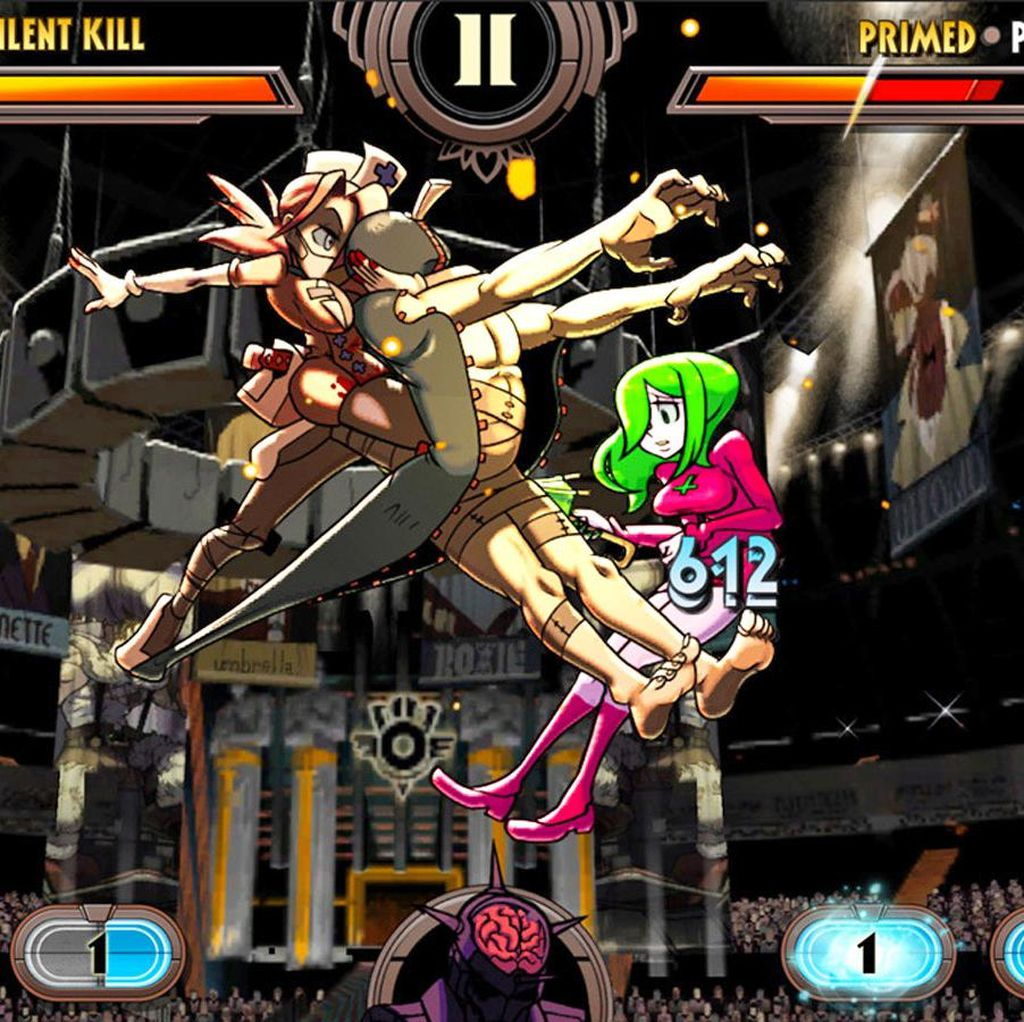 LINE Boyong Game Skullgirls ke Android dan iOS