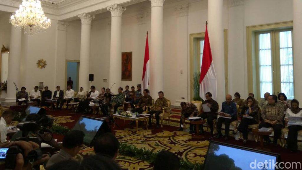 Jokowi Gelar Sidang Kabinet di Istana Bogor, Bahas Sembako dan Ekonomi