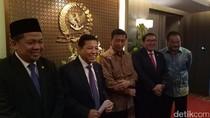 Temui Pimpinan DPR, Wiranto Ingin RUU Terorisme Segera Selesai