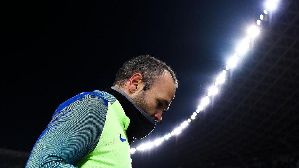 Iniesta Belum Perpanjang Kontrak, Bisa Saja Tinggalkan Barca