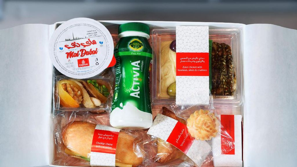 Emirates Layani Buka Puasa di Udara