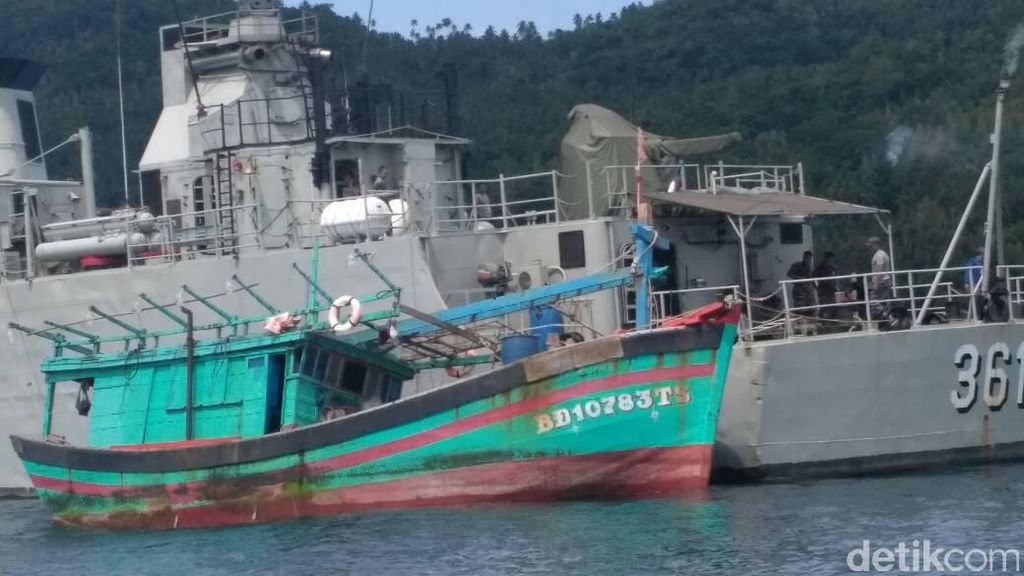 Curi Ikan di Laut Natuna, Kapal Vietnam Ditangkap TNI AL
