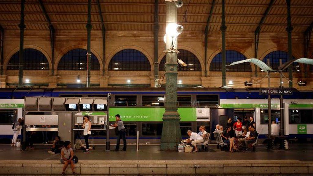 2 Penumpang Mabuk Picu Keributan di Kereta Eurostar Tujuan London