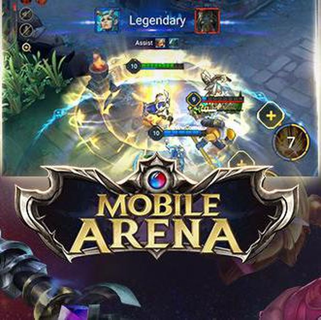 Game Mobile Arena Pede Saingi Mobile Legends