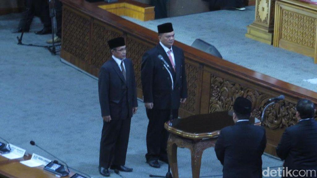 Pengganti Sohibul Iman dan Tantowi Yahya Dilantik di Paripurna DPR