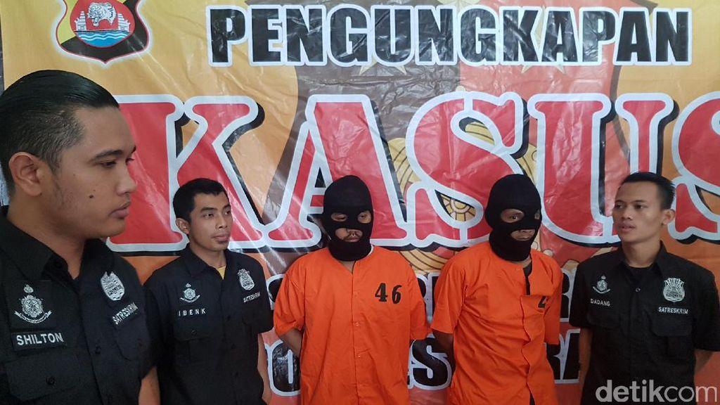 Polisi Tangkap 2 Orang Pencuri Spesialis Rumah Kosong di Serang