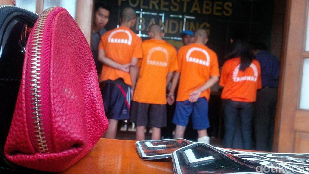 Polisi Tangkap Kawanan Geng Motor Nyambi Begal Sadis di Bandung