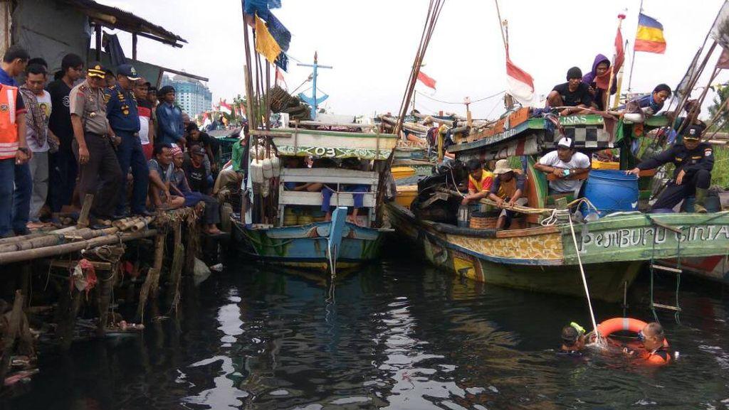 Tak Bisa Berenang, Seorang Nelayan Tenggelam di Muara Angke