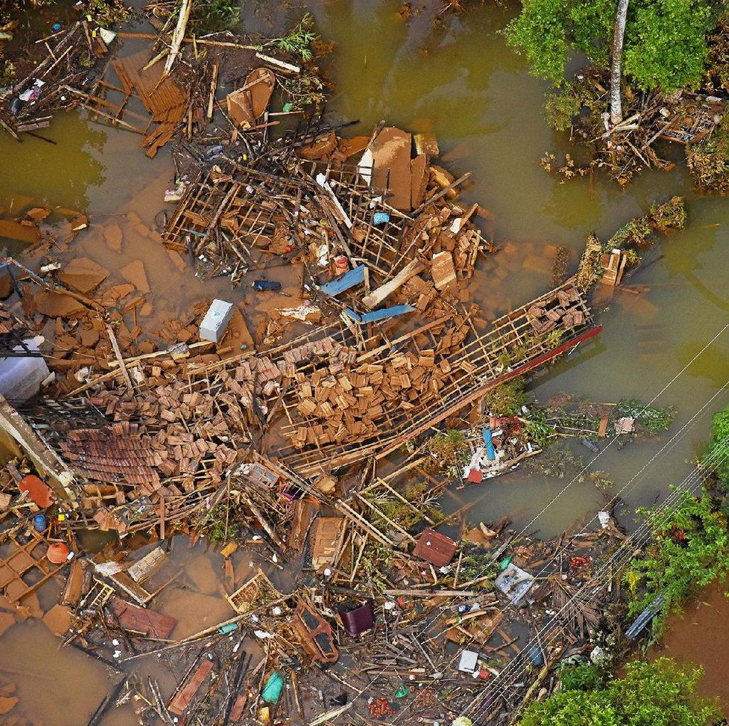 Dahsyatnya Banjir di Matara Sri Lanka