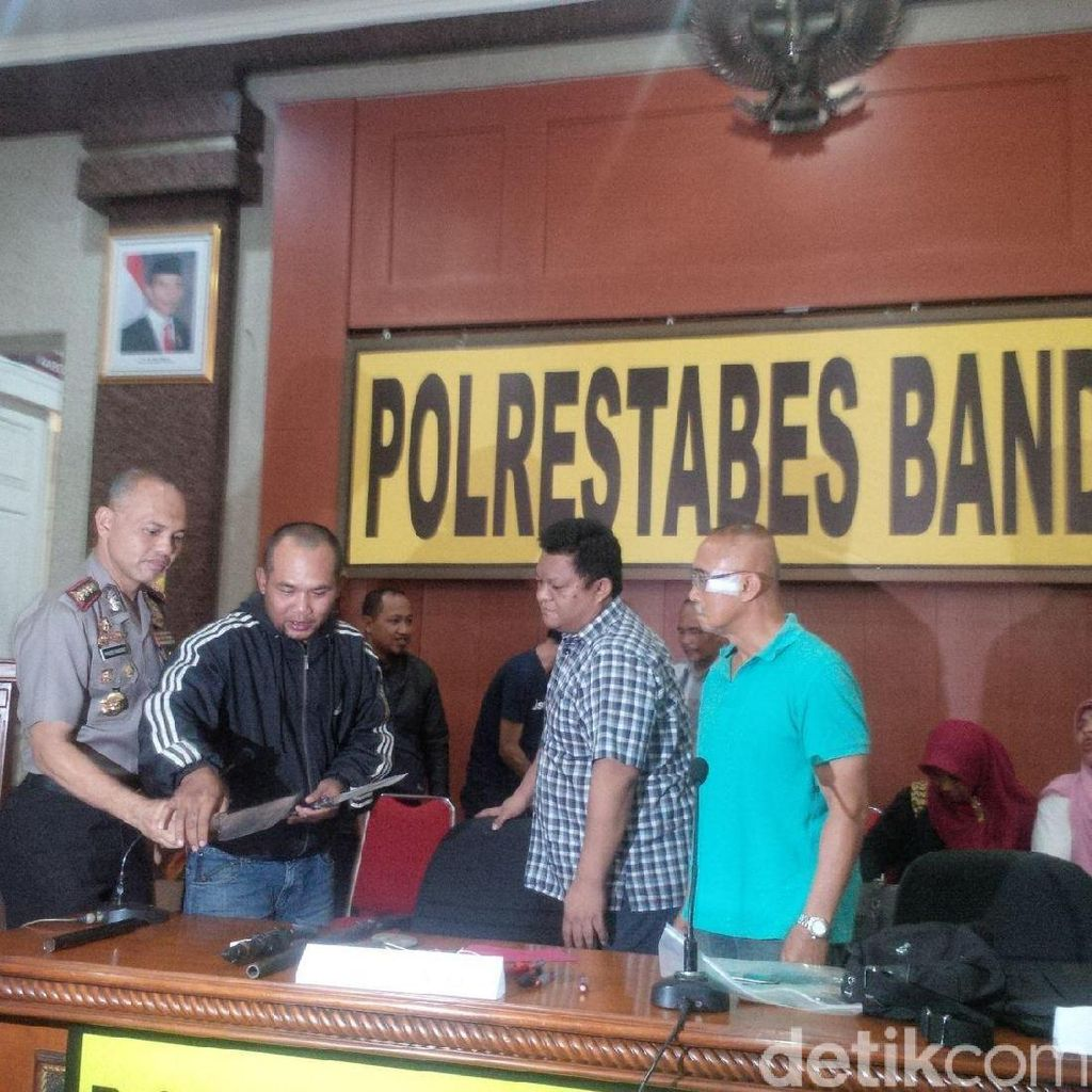 Cerita Korban Pembacokan Geng Motor Nyambi Begal di Bandung