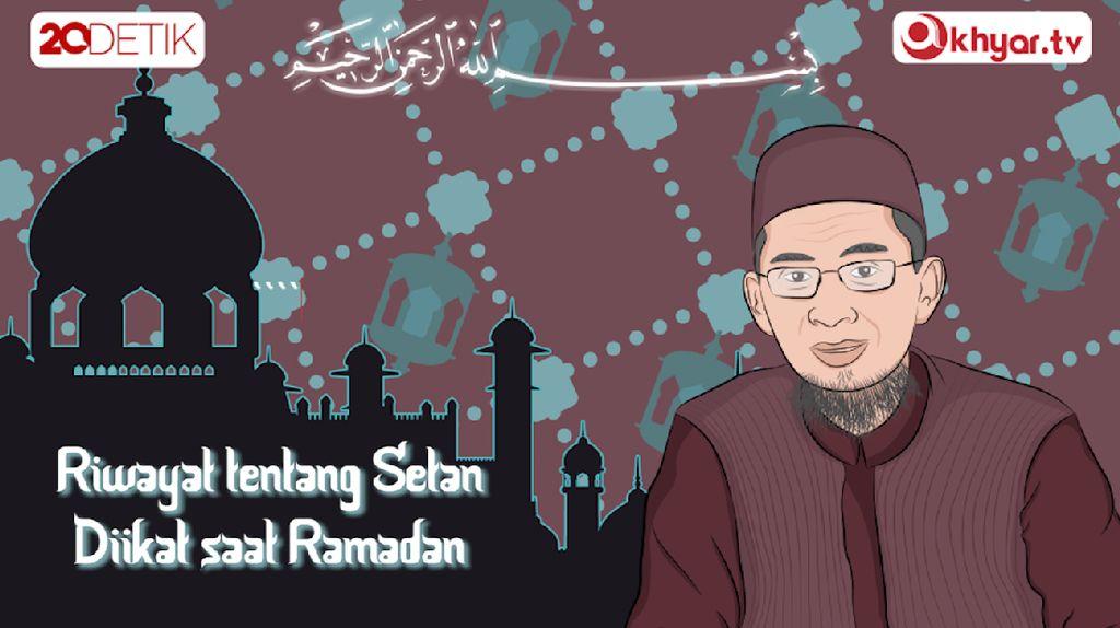 #TanyaUstazAdi Benarkah Setan Dibelenggu Saat Ramadan?
