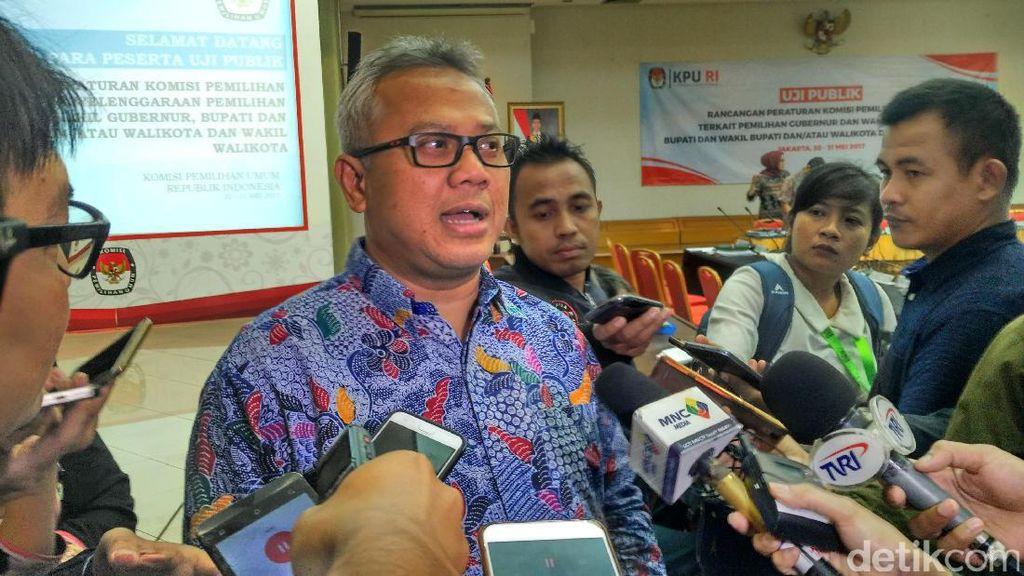 KPU: Tahapan Pilkada Serentak 2018 Dimulai Sejak Oktober 2017