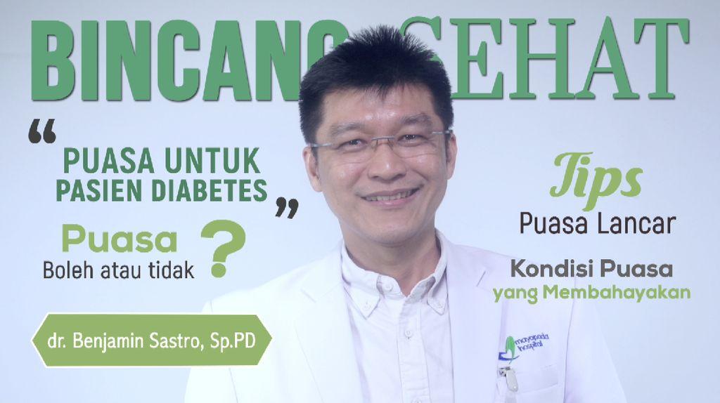 Penting! Ini Saran Dokter untuk Pengidap Diabetes yang Ingin Puasa