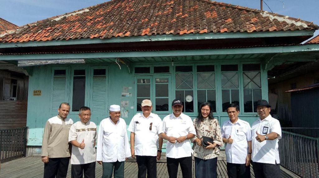 Kunjungi Kampung Arab Palembang, Ini Kata Menteri Pariwisata