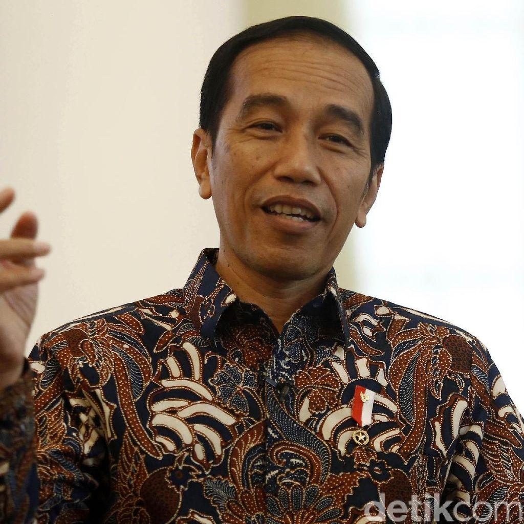Jokowi Malam Takbiran di Bogor, Salat Id di Masjid Istiqlal