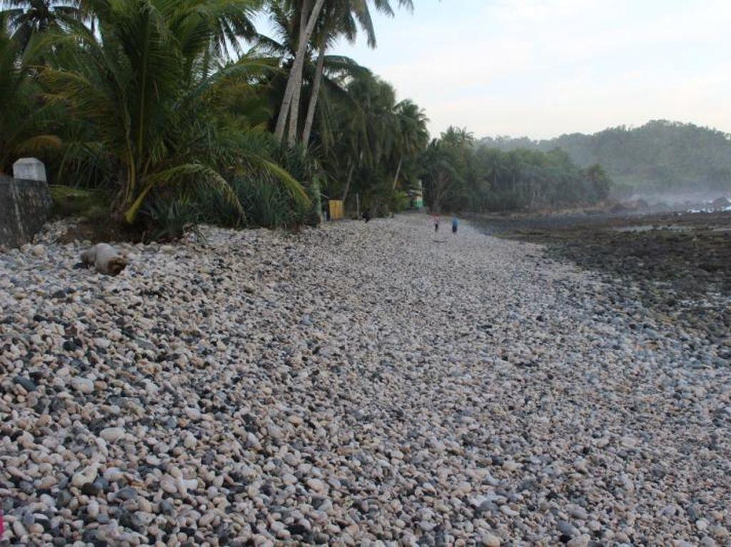 Pantai Unik di Pacitan, Isinya Batu Kerikil Besar-besar