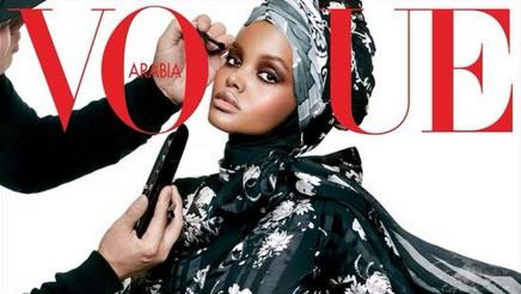 Pasca Tampil di Show Kanye West, Hijabers AS Jadi Model Cover Vogue