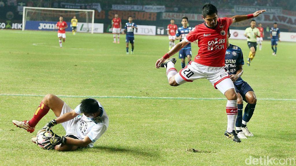 Bepe Lega Kegagalan Penaltinya Tak Nodai Hasil Persija