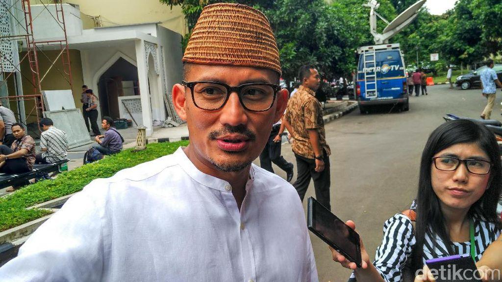Sandiaga Ingin Ada Coffee Morning Cari Solusi Permasalahan Jakarta