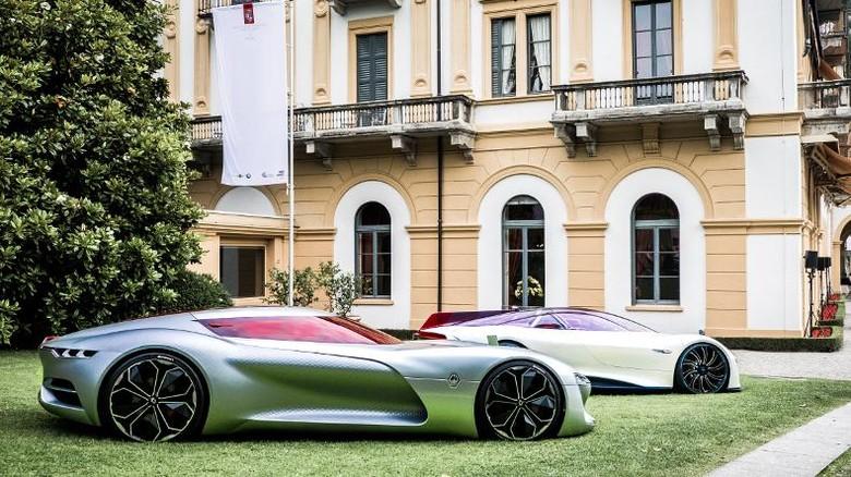 Mobil Konsep Renault Ini Jadi yang Tercantik di Italia