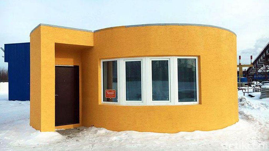 Bangun Rumah Pakai Printer 3D, 24 Jam Jadi