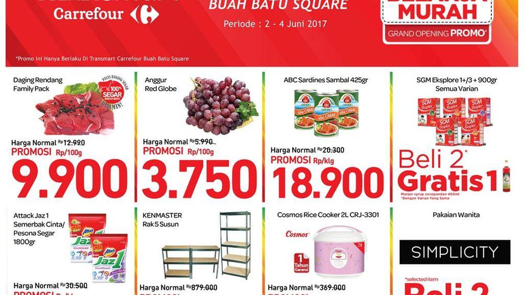 Masih Ada Beragam Promo Toko Baru di Transmart Carrefour