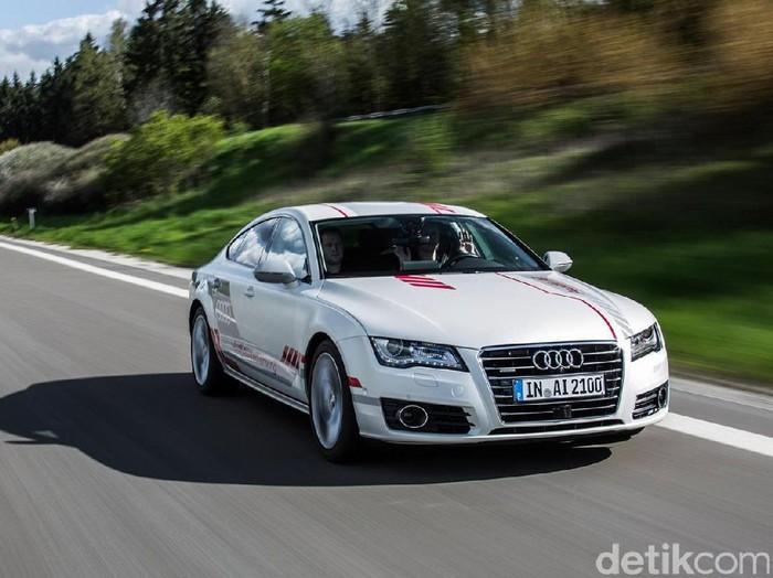 Mobil otonom Audi. Foto: Audi