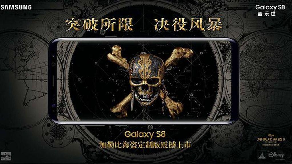 Galaxy S8 Edisi Pirates of the Caribbean Dirilis, Harganya?