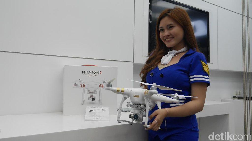 Mengintip DJI Drone Seharga Rp 171 Juta
