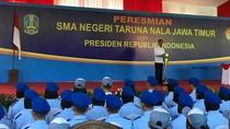 Resmikan SMA di Malang, Jokowi: SDM Kita Harus Mampu Bersaing