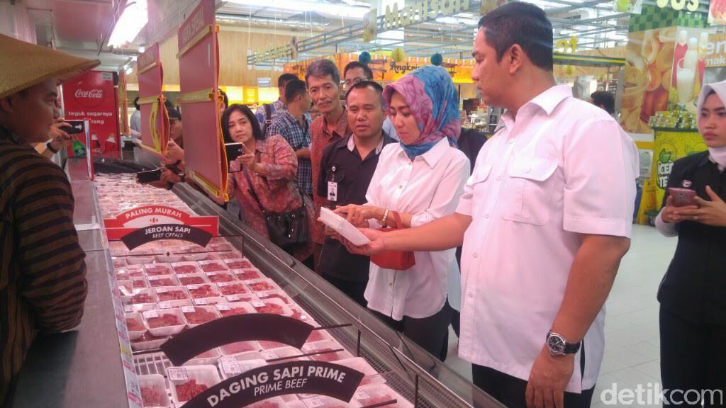 Kemendag Sidak ke Carrefour Semarang, Ini Hasilnya