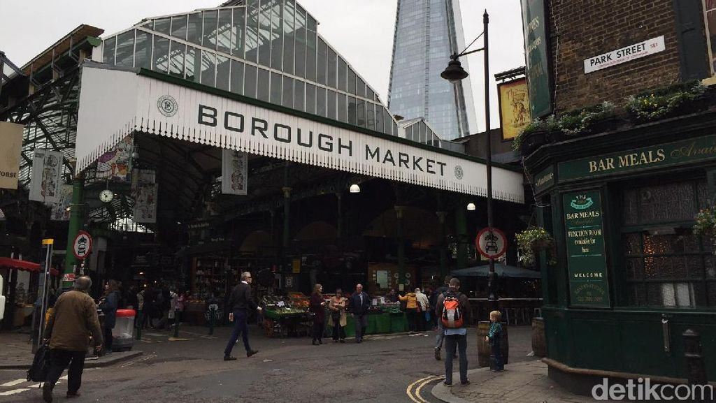 Borough Market, Pasar Berusia 1000 Tahun yang Jadi Area Serangan Teror