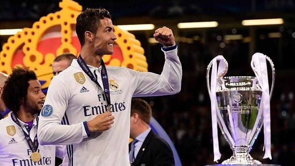 Real Madrid Juara Liga Champions, Netizen Elukan CR7