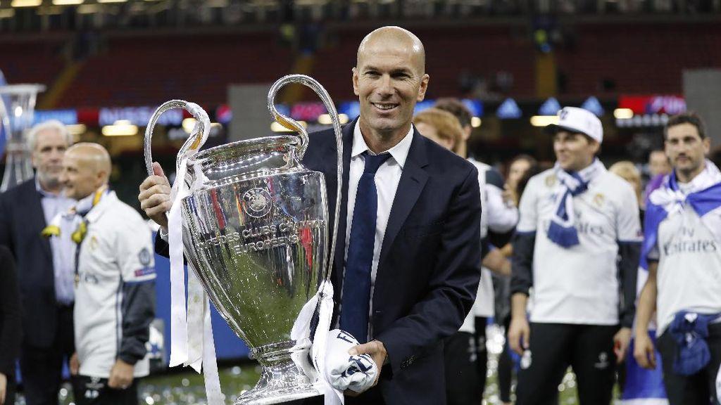 Madrid Sudah Jadi Tim Legendaris di Bawah Zidane, Pelatih Terbaik di Dunia