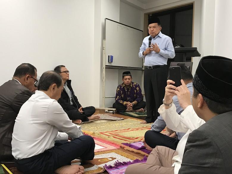 JK Ceramah di Jepang: Masjid Harus Bicara Soal Kemajuan