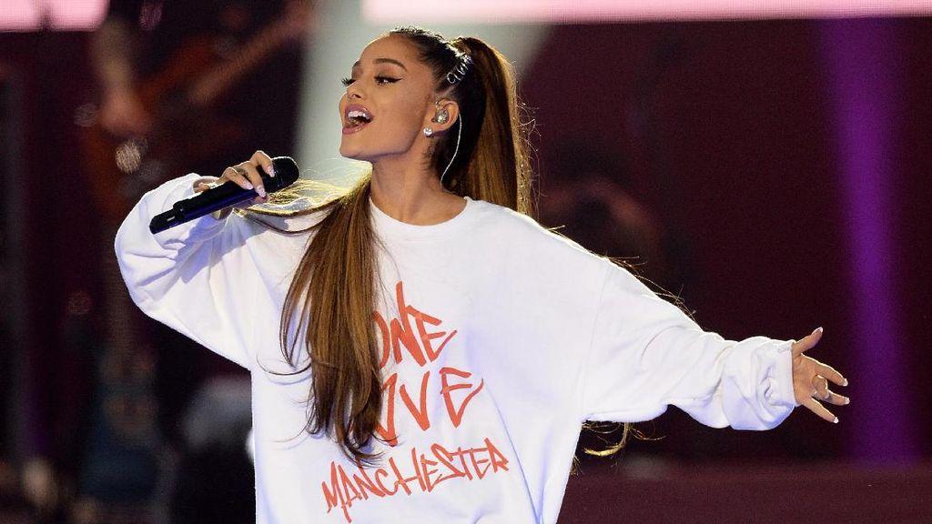 Pasca Ledakan di Manchester, Ariana Grande Dianugerahi Gelar Khusus