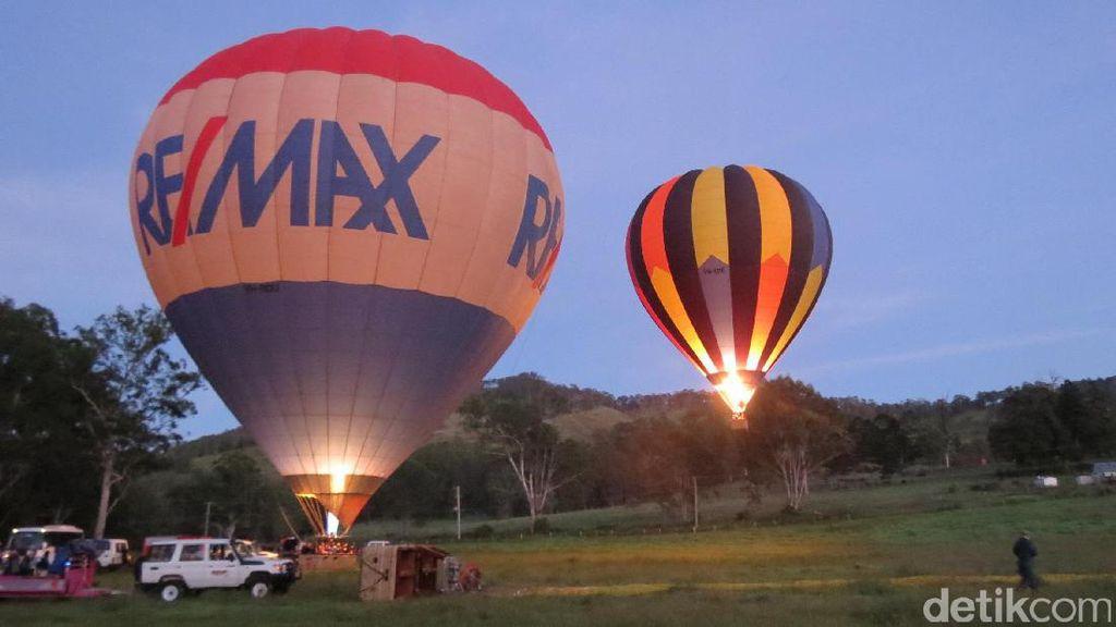 Naik Balon Udara di Gold Coast, Semuanya Kelihatan!
