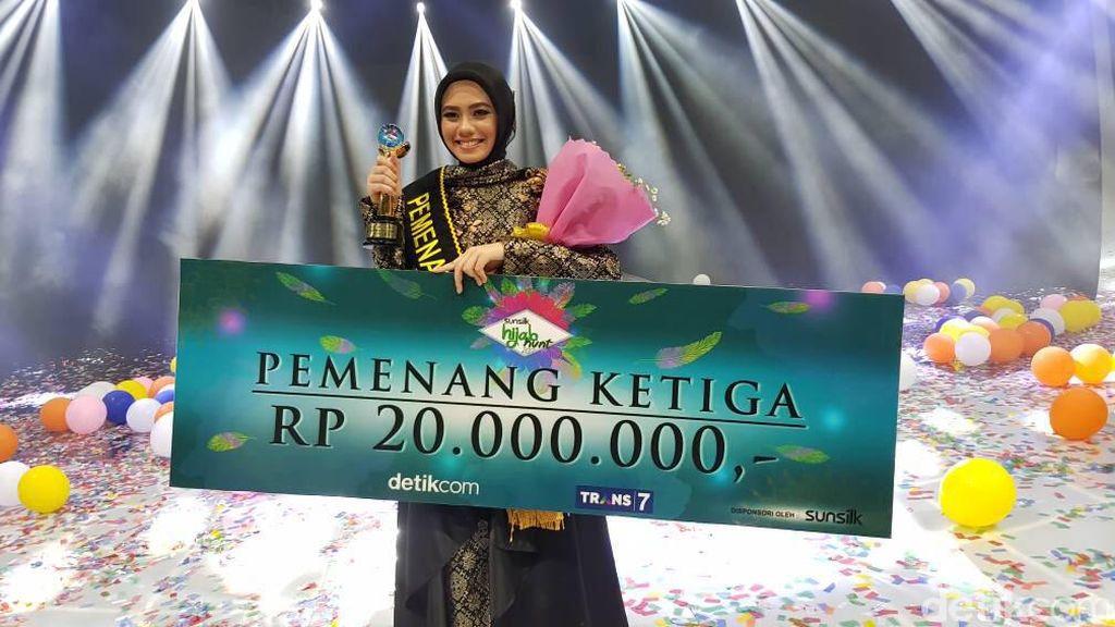 Tamara, Adik Rachel Maryam Tak Sangka Jadi Juara 3 Sunsilk Hijab Hunt 2017