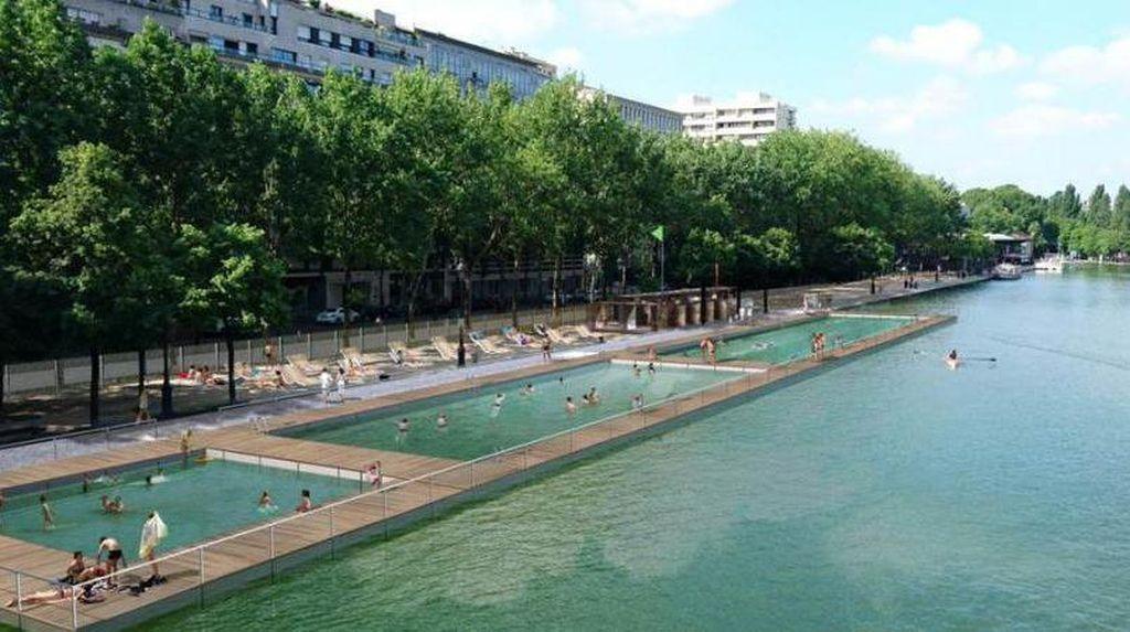 Cerita Kanal di Paris, Dulu Kotor Sekarang Bisa Buat Berenang