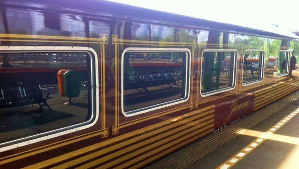 Kereta Mewah untuk Mudik Sudah Dipesan 3 Bulan Sebelum Puasa