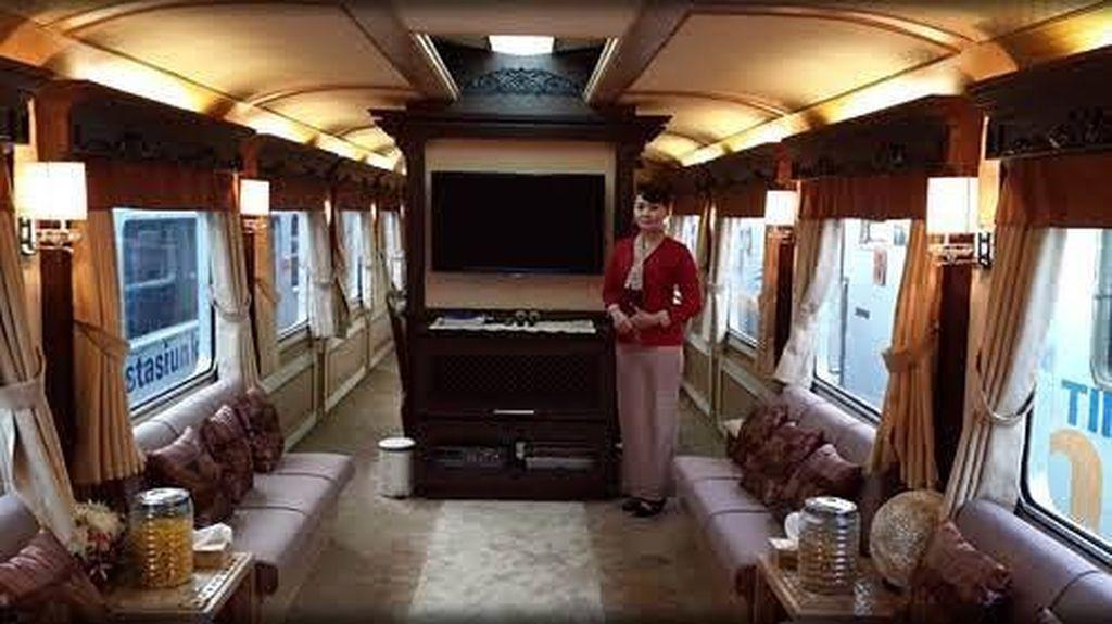 Mudik dengan Kereta Mewah, Berapa Biayanya?