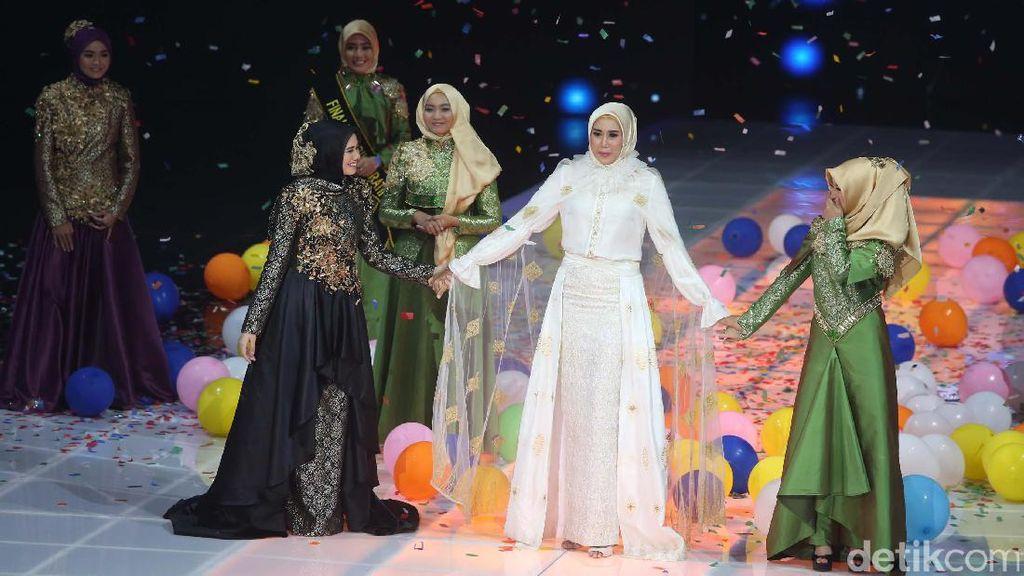 Cedera Tak Halangi Lia Karina Raih Juara 1 Sunsilk Hijab Hunt 2017