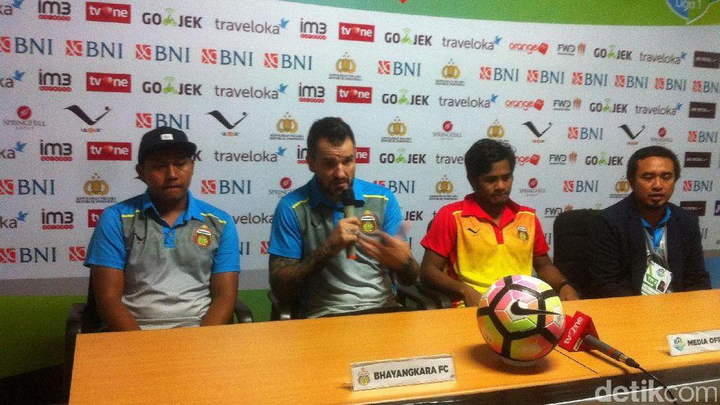 Laga Melawan Persib Rusuh, Ini Komentar Pelatih Bhayangkara FC