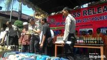 10 Hari Operasi Pekat Semeru, Polres Lamongan Tangkap 83 Tersangka