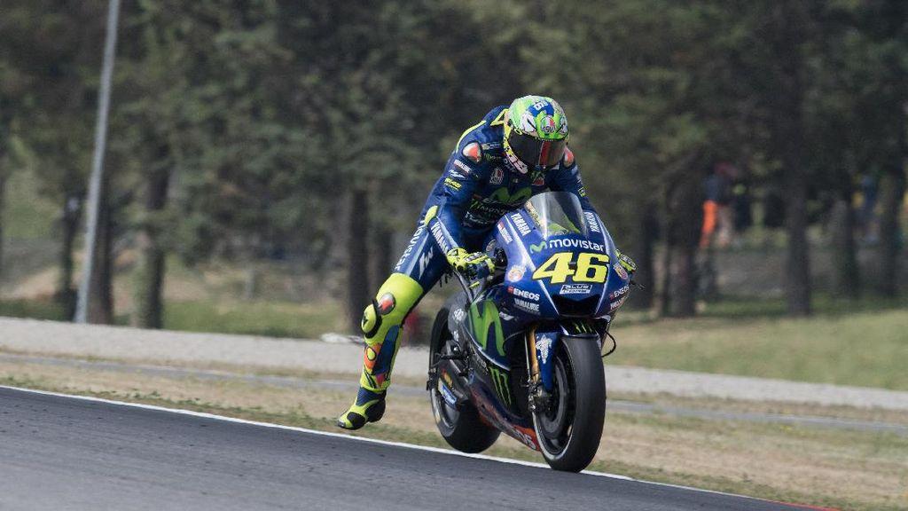 Usai Kecelakaan Motocross, Rossi Sudah Kembali Tunggangi Motor