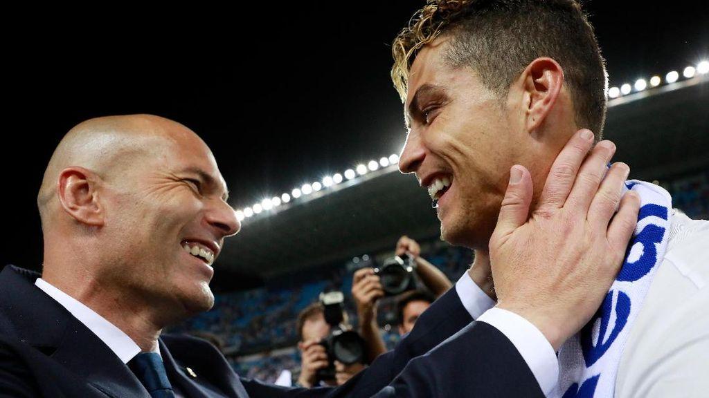 Zidane: Ronaldo Tetap di Madrid, Titik!