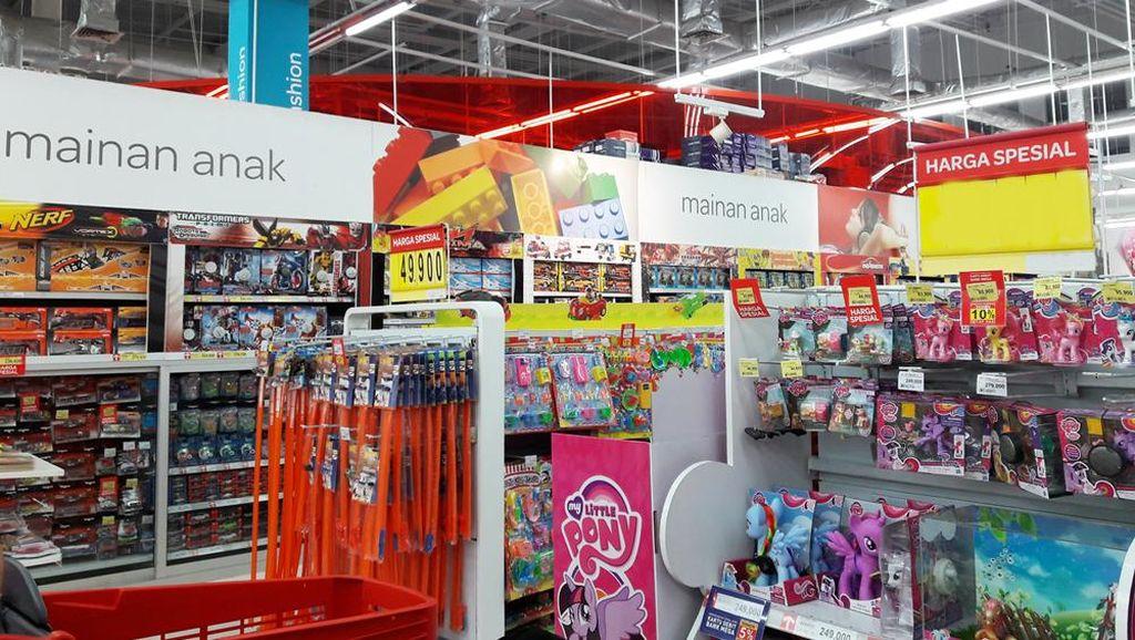 Mainan Serba Diskon 20% di Transmart dan Carrefour