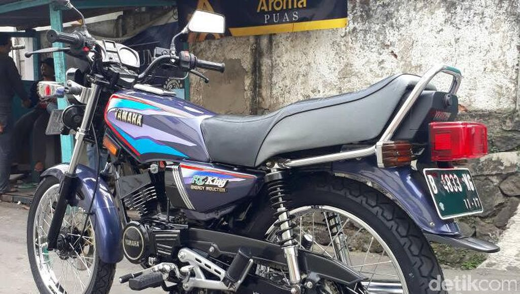 Begini Hasil Make Over RX King Driver Go-Jek