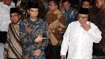 Jokowi Buka Bersama di Rumah Oesman Sapta